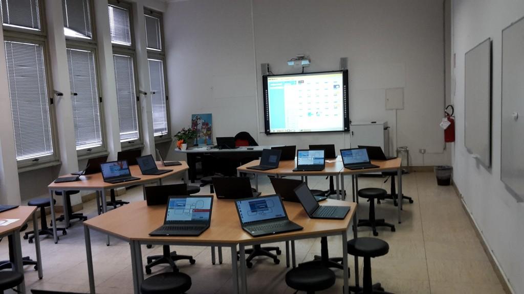 Esempio di aula Multimediale di ultima generazione